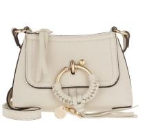 Umhängetasche Joan Crossbody Bag Mini Leather Cement Beige beige