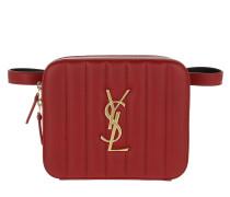 Gürteltasche Vicky Belt Bag Matelassé Lambskin Eros Red rot