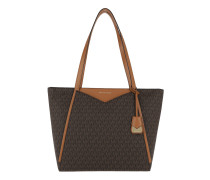 Whitney LG TZ Tote Brown Shopper