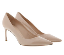 Dioressence Pumps Leather Nude Pumps