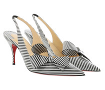 Pumps Clare Nodo 80 Stripes Black/White schwarz