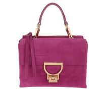 Umhängetasche Arlettis Suede Crossbody Bag Ultra Violet pink