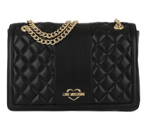 Quilted Nappa Shoulder Bag Nero Tasche
