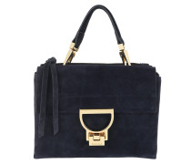 Umhängetasche Arlettis Suede Crossbody Bag Small Bleu blau