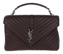 College Monogramme Shoulder Bag Black Tulip Tasche braun