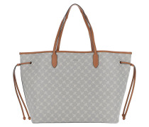 Lara Shopper Light Grey Tote