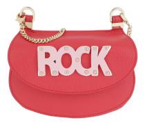 Rock Crossbody Bag Small Vivid Red Tasche
