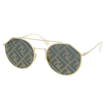 Sonnenbrille FF M0021/S Gold White gold