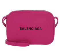 Umhängetasche Everyday Camera Bag XS Leather Pink Black pink
