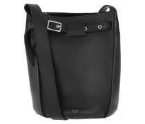 Beuteltasche Big Bag Bucket Long Strap Smooth Calfskin Black schwarz