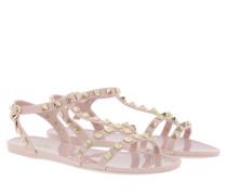 Sandalen Rockstud Flat Sandals Soft PVC Water Rose