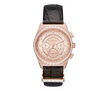 MK2616 Ladies Vail Chronograph Watch Rosé-Tone/Black Uhr rosa