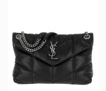 Umhängetasche LouLou Monogramme Shoulder Bag S Leather Black schwarz