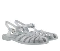 Sandalen PVC Beach Sandals Silver