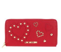 Portemonnaie Portafoglio Pu Rosso