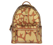 Stark MCM Leopard Print Backpack Medium  Rucksack