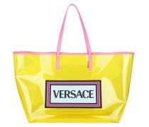 Shopper Logo Shoulder Bag Fluo Yellow Multicolour gelb
