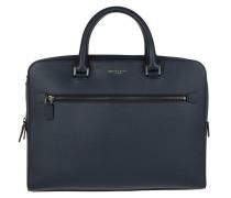 Harrison MD FT Zip Briefcase Navy Herrentasche