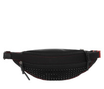 Gürteltasche Spike Belt Bag Leather Black schwarz