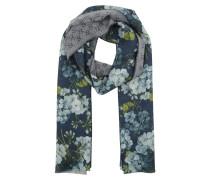 Scarf GG Flower Blue Schal