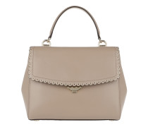 Ava MD TH Satchel Bag Truffle Satchel Bag