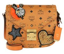 Patricia Embellished Visetos Shoulder Bag