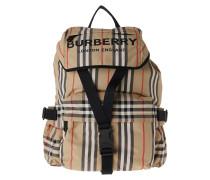 Rucksack Burberry Logo Backpack Nylon Archive Beige beige