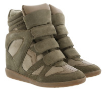 Bekett Sneakers Suede Taupe