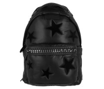 Falabella Go Backpack Multistar Nylon Black Rucksack