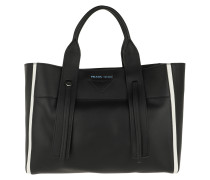 Tote Ouverture Large Bag Leather Black