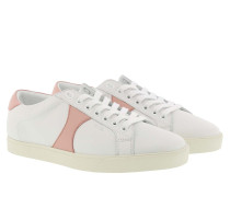 Sneakers Triomphe Low Lace Up Sneaker White/Pink