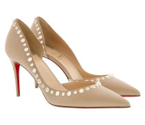 Irishell Nappa 85 Nude/White Gold Pumps