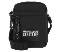 Umhängetasche Logo Tapes Belt Bag One Pocket Black