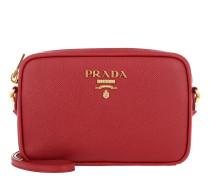 Crossbody Bag Medium Saffiano Leather Fuoco Tasche