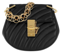 Drew Bijou Mini Leather Black Tasche