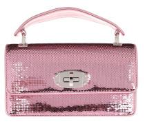 Sequin Shoulder Bag Rosa Tasche