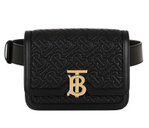 Gürteltasche TB Belt Bag Leather Black schwarz