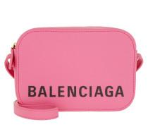Umhängetasche Ville Camera Bag XS Leather Rose rosa