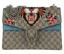 Dionysus Embroidered GG Supreme Shoulder Bag  Tasche