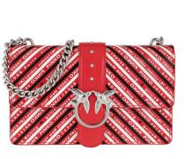 Umhängetasche Love Logomania Crossbody Bag Rosso/Nero/Bianco rot