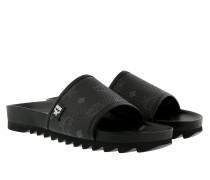W Visetos Sandals Black Schuhe