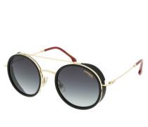 Sonnenbrille CARRERA 167/S Gold Red schwarz