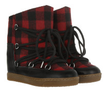 Nowles Boots Red Schuhe rot
