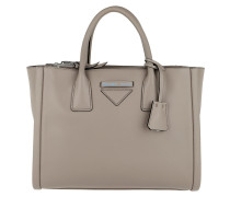 Concept Handle Bag Leather Pomice Tote