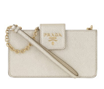 Mini Bag Saffiano Leather Pyrit Tasche