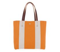 Ilse Canvas EW Shopper Medium Exotic Yellow Shopper orange