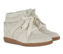 Bobby Sneaker Velvet Stainer Basket Chalk Sneakers