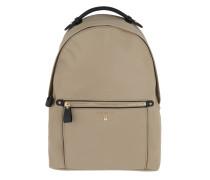 Rucksack Nylon Kelsey LG Backpack Truffle beige