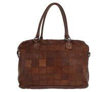 Bauletto Grande Patchwork Bowling Bag Bags