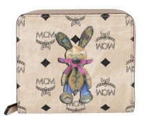 Rabbit Zippered Wallet Mini